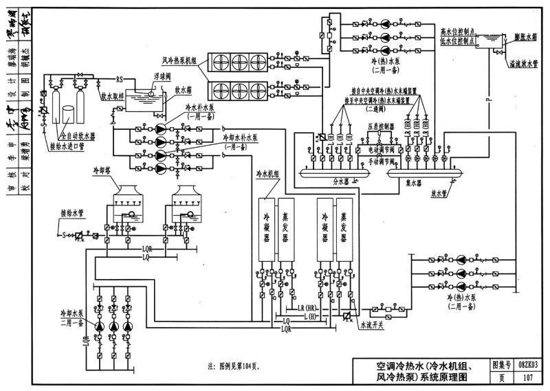 制造热水的设备由锅炉负责,至于锅炉以及其控制系统将由承包商在合约中负责。 新风处理系统  当确定风机启停正确顺序后,楼宇自控控制程序即开始正常工作,风管温度设定是由冷水出水管调节及旁通阀调节来决定。当风机关闭后,旁通阀及新风阀应当关闭。 关于楼宇自控变风量空气处理系统  当风机启停确定、楼宇自控系统正式运作后,送风温度设定由调节冷冻水进出水管来调节。当送风量变小时,冷冻水阀的调节来控制回风温度的设定点而不考虑送风温度。风管静压调节由进风口的开度来调节。静压传感器应当安装在风管下2/3位置,如果有两